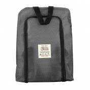 Portable Travel shoe bag Zip view window Pouch Storage waterproof Organiser