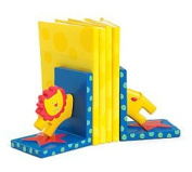 Circus Themed Bookends With Lion For Baby Nursery Or Toddler Room Decor