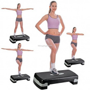 70cm Fitness Aerobic Step Exercise Stepper Trainer non-slip surface With Risers