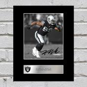 Khalil Mack Signed Mounted Photo Display Oakland Raiders