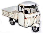 Model Car Piaggio Ape - Retro Tin Model