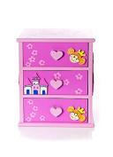 Girls Princess Jewellery Box Trinket Box