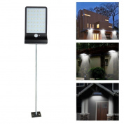JPOQW(TM) 36 LED Solar Motion Sensor Outdoor Lights Safety Lights for Garden/Fence/Pathway
