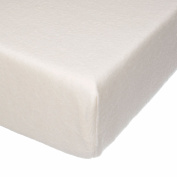 Camp River Rock Cream Softee Velour Fitted Crib Sheet by Glenna Jean