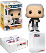 Funko Pop! NYCC Dr. Who First Doctor, Limited Edition Fall Convention Exclusive, Concierge Collectors Bundle