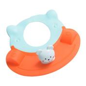 Ztl Baby Shower Cap with Cute Bear Soft Shampoo Bath Bathing Cap Sunshade Visor Hat for Children Kids
