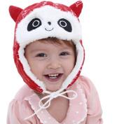 Baby Toddler Kids Winter Panda Hat Beanie Adjustable Warm Knit Cap