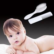 Hongxin ABS Baby Hairbrush Newborn Hair Brush Infant Comb Head Massager Grooming Shower Design Pack Kit