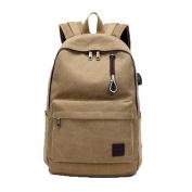 Aurorax Men Woman Business Canvas Laptop Backpack Travel Bag
