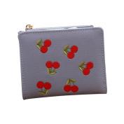 Women Leather Retro Vintage Mini Wallet Purse Bag