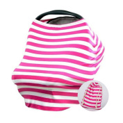 Multi-Use Baby Car Seat Canopy Covers Nursing Scarf And Breastfeeding Cover Super PDR Baby Shopping Carseat Covers Sun Protector for Girls and Boys