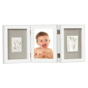 Newborn Baby Print Kit - Lovely and Unique Handprint and Footprint Frame for Kids,The Best Baby Registry Baby Shower Gifts for Boys and Girls,A Forever Keepsake Desk Decoration