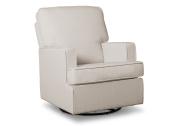 Delta Children Henry Nursery Glider Swivel Rocker Chair, Cream