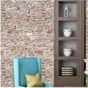 TV Background,Sikye 3D Wallpaper Creative Brick Pattern Self-adhesive Wall Sticker Mordern Home Decor,Waterproof,40320