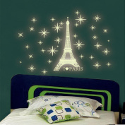 Glow In The Dark Stars,Woaills Fluorescent Wall Stickers For Kids Bedroom