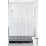 Ruthy's Textile Mildew-Free Peva 6 Gauge Heavy Weight Shower Liner