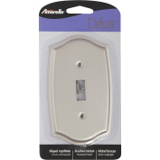 Amerelle Sonoma Stamped Steel Switch Wall Plate