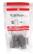 Qest Nut-Ring-Cone Set Bagged 1.3cm Od.