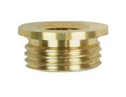 Jandorf 60148 Reducer, 3/8 in M X 1/8 in F, Brass