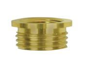Jandorf 60147 Reducer, 3/8 in M X 1/4 in F, Brass