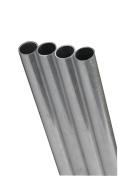 K & S Metal Round Tube 0.7cm D X 30cm L Aluminium Carded