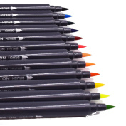 Watercolour Pen Dual Tip Brush Pens Set Watercolour Art Marker For Drawing, Sketching, Painting And Creating Watercolour Effect