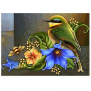5D DIY Diamond Painting,Awakingdemi DIY Cross Stitch Diamond Painting Bird Embroidery Picture Home Decor Craft