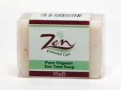 Zen Personal Care Tea Tree Facial Organic Soap x 2 Bars 30gms Best treatment for Acne and other skin irritations