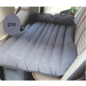 Self-drive Inflatable Car Bed Air Mattress without Ear Grey
