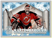 1999-00 Pacific Crown Royale Ice Elite #16 Martin Brodeur Goaltender NEW JERSEY DEVILS
