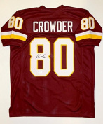 Jamison Crowder Autographed Maroon Pro Style Jersey- JSA Witnessed Authenticated
