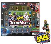 TeenyMates 2.5cm NFL Collectible Figures Player Quarterback Gift Set