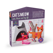 Craft-tastic Cat's Meow Make & Play Craft Kit