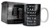 Game Of Thrones Heat Changing Mug - Daenerys