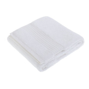 Luxury 100% Egyptian Cotton Face Cloth - White - Two Pack