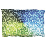 Peacocks And Feathers Pillow Case Multi Standard One Size