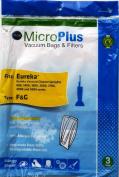 Eureka Vacuum Bags Style F & G 3 Pack by Green Klean