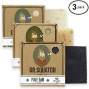Dr. Squatch Men's Soap Sampler Pack (3 Bars) - Pine Tar, Cedar Citrus, Nautical Sage - Natural Manly Scented Soap for Men