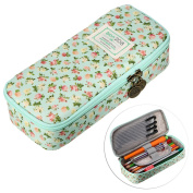 BTSKY Cute Pencil Case -- High Capacity Pencil Pouch Stationery Organiser Multifunction Cosmetic Makeup Bag, Perfect Holder for Pencils and Pens
