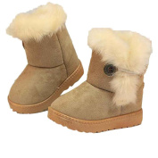 Wanshop® Baby 1-3 Years Old Fashion Winter Baby Girls Child Snow Boots Warm Shoes Winter Warm Casual Shoes