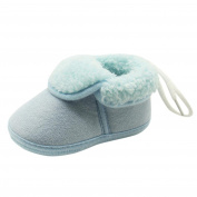 Kavitoz Baby New and Fashion Shoes, Toddler Newborn Baby Solid Soft Sole Boots Prewalker Warm and Soft Shoes