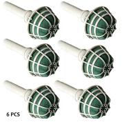 Tableclothsfactory 6 PCS Wholesale Bridal Wedding Foam Bouquet Holders For Vase Centrepieces