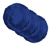 3 pc- 46cm Solid Navy Blue Round Balloon Wedding Baby Bridal Shower Birthday Luau