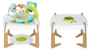 Evenflo ExerSaucer 2-in-1 Activity Centre and Art Table, Gleeful Sea
