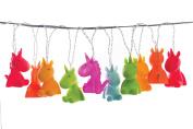 Unicorn String Light Rainbow Multicolor LED, Children Night Light, Baby Nursery Bedroom light