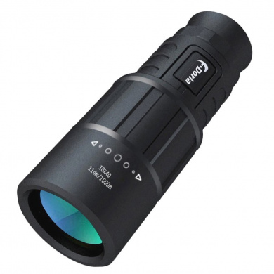 Monocular Telescope,F.Dorla 10X40 Outdoor Dual Focus Optical Monoculars Zoom Lens HD Non Black Infrared Night Vision For Travelling Hunting Camping Hiking