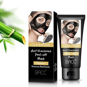 Beauty Black Mask, Active Charcoal Blackhead Remover Mask With Deep Clean Formula Suction Mask