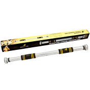Marcy Bruce Lee Signature Pull Up Bar - Yellow/Black/Silver, One Size