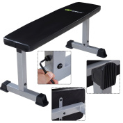 Flat Weight Bench Lifting/Press Workout Home Gym Fitness 107 x 48 x 47CM