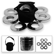 BodyRip Olympic 5.1cm Fraction Weight Plate 5kg SET Discs Plates Low Weights Quality Steel